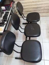 3 cadeiras juntas