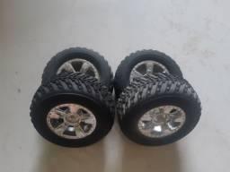 Roda automodelo off road 1/16