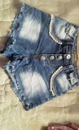 Vendo shorts Tam 16 usado mas em boa condição