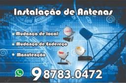 Técnico de instalacao de antenas