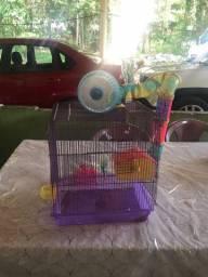 Vendo Gaiola Semi nova de Hamster