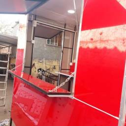 Trailer food truck  em acm 13.500 10 no cartão