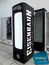Cervejeira Metalfrio Com Porta De Vidro + Carenagem - 280 Litros