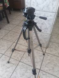 Tripé profissional pra câmera