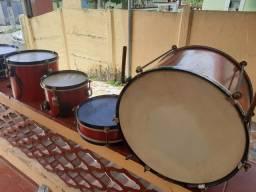 Vendo tambores de bateria infantil