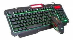 Kit teclado gamer + mouse gamer