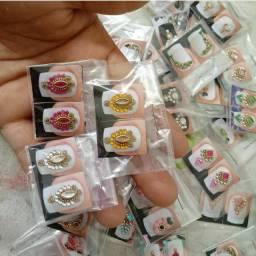 *promoção* Kit 30 pares de joias de unhas
