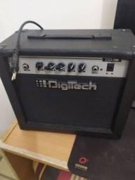Cubo amplificador de som digitech