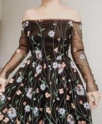 Vestido de festa vintage