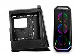 Kit 3 Fans RGB Pichau com controladora