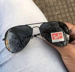 Óculos de Sol Ray-Ban Aviador com Proteção UVA e UVB