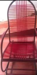 Cadeira de fio de balanço