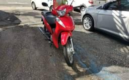 Honda Biz 110-I 2016 Vermelha