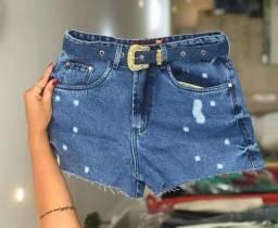 Shorts jeans no atacado