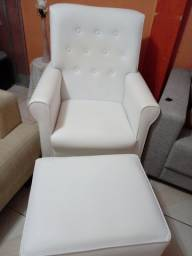 Cadeira para amamentar.