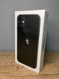iPhone 11 64gb - Preto (Novo)