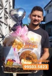 Cesta cesta cesta de café da manhã Manaus reservas para sua mãe