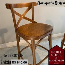 Banqueta Bristrô e Cadeiras - promoção maio