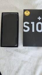 Samsung S10 plus cor branco