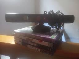 Kinect de Xbox 360 mais 4 jogos originais