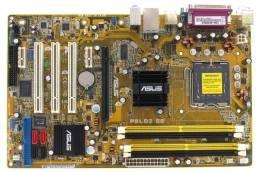 Kit Placa Mãe Asus P5LD2 SE+Processadorcore 2 duo 2.13ghz+cooler original