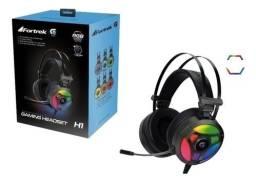 Headset Gamer Fortrek Pro H1 Plus Rgb, Surround 7.1