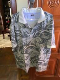 Camisa manga curta tamanho g