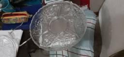Pestisqueira em cristal boêmia
