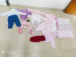 Lote roupa bebe menina