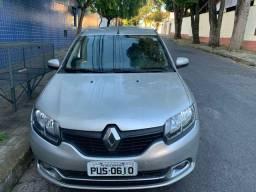 Renault Logan 2014 Couro e multimidia