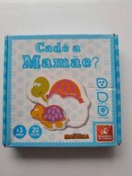 """Brinquedo Pedagógico de encaixe """"Cadê a Mamãe?"""""""