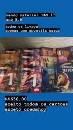 Material Sas 1° ano E.M todos os livros