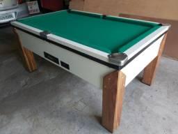 Snooker (Sinuca) nova de formica linda completa tudo na descrição