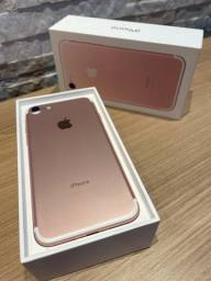 iPhone 7 128gb rose gold impecável