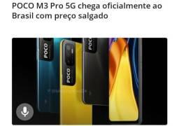 Título do anúncio: XIAOMI POCO M3 PRO 5G HAM4GB, HOM64