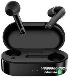 Fone  Bluetooth Qcy t3! Até 5 horas de música