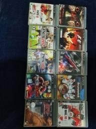 10 jogos Playstation 3 tudo por 200,00