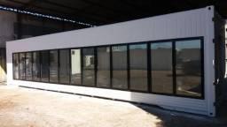 Container Câmara Fria Reefer 40 pés com maquinário
