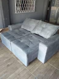 Sofá retratil reclinavel 2m MM