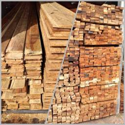 Estância, madeiras brutas e beneficiadas.