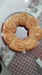 Doces e pão de rosas