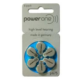Título do anúncio: Pilha power one p675 auditiva