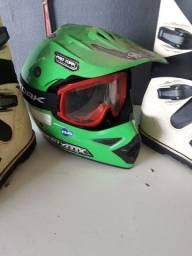 Bota protork +capacete