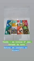 Livros e paradidático 6º ano