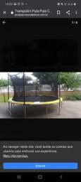 cama elástica trampolim 4,26