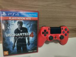 Controle e Jogo PS4