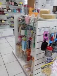 Estoque loja de cosméticos