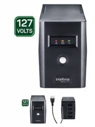 Nobreak Semi Senodial XNB 600VA 127v Intelbras (Novo)