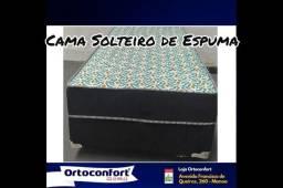 Cama Box Solteiro de Espuma!!@##