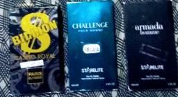 3 Perfumes por valor só
